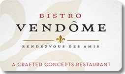 bistro vendome gift certificates