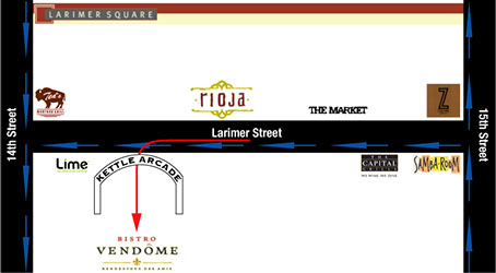 bistro vendome location